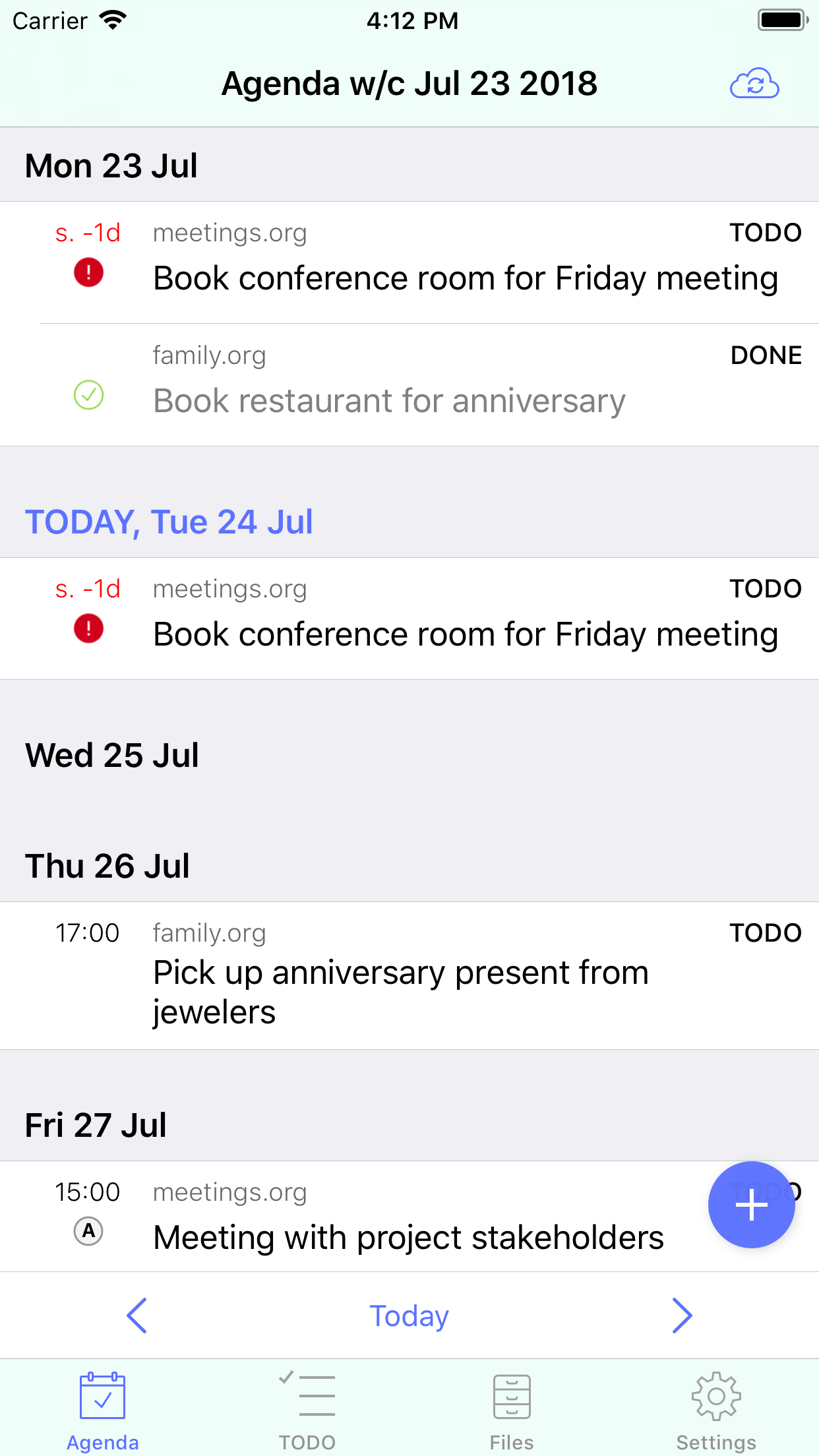 beorg gives users back control with iOS plain text task management app Image